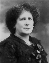 Photo of Hertha Marks  Ayrton